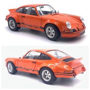 1/18 Solido Porsche 911 Carrera 2.8 RSR Orange 1974 Neuf Livraison Domicile