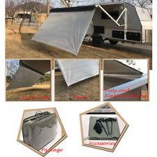 Awnlux Caravan Privacy Screen Caravan End Wall awning sunblocker width size 10ft