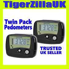 2x Digital LCD Pedometers Step Counter Calorie Walking Running Cheap Fitbit