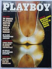Playboy NL 1/1985, Sonia Braga, Joan Bennett, Natalie Bencheton