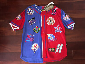 NEGRO BASEBALL LEAGUE JERSEY CROSS OVER INC STITCHED NEW EMBROIDERED PATCHES 2XL