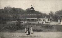 Merry Go Round Carousel - Rock Springs WV c1910 Postcard