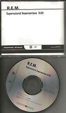 R.E.M. Supernatural Superserious RARE PROMO Radio DJ CD single 2008 MINT REM