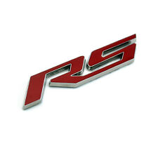 Car RS Emblem Sticker for 10-15 Camaro RS Boot Rear Badge