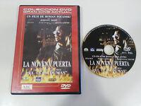 LA NOVENA PUERTA DVD + EXTRAS ROMAN POLANSKI JOHNNY DEEP ESPAÑOL ENGLISH