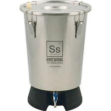 NEW SS Brewing Tech 3.5 Gallon Mini Brew Bucket  Fermenter Stainless Fermentor