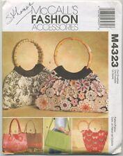 McCalls Fashion Accessories M4323 handbags bags purses