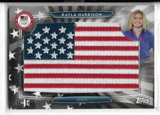 SWEET 2016 TOPPS OLYMPIC KAYLA HARRISON FLAG PATCH CARD ~ /99 USA JUDO ~ UFC MMA