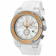 Swiss Legend Original 30025-02-RB Throttle Swiss Chrono White/Rose Gold Dial