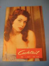 Cocktail Magazin von 1957. Film,Show,Erotik,Bühne,Stars-Variete- Film-Pin Up-Akt