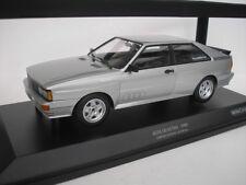 Audi quattro anno di costruzione 1980 Argento 1 18 Minichamps