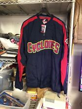 NOS New Brooklyn Cyclones Majestic Jacket 2XL Dug Out Jacket NY Penn League Mets