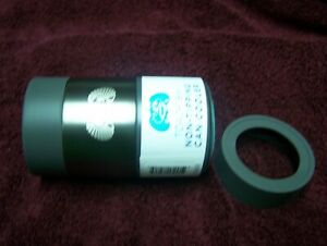 Toadfish Insulated Stainless Steel Non-Tipping Can Cooler GRAPHITE WITH ADAPTER