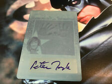 PETER TORK auto 2011 LEAF POP CENTURY AUTOGRAPH THE MONKEES 1/1 Print Plate SSP