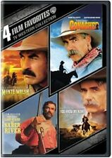 4 Film TV Western Collection Tom Selleck Conagher Last Stand Monte Walsh New DVD