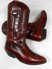 Santiags Bottes Cowboy Western Boots Cowboystiefel Botas Stivali 38 cuir leather