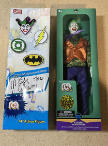 """Mego 14"""" The Joker NYCC Marty Abrams Limited Signature Edition 5/12! Super Rare!"""