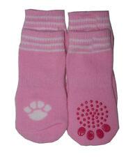 Pet, Dog Socks dog footwear - small, medium, large or XLarge Pink - new