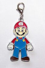 SUPER MARIO Clip On Charm FOR Bracelet key ring zipper necklace pendant