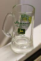 Vintage old school John Deere beer mug CREEPY JANSSEN Emery SD South Dakota