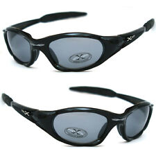 X-Loop Sport Cycling Golfing Wrap New Sunglasses Mens Running Shinky Black Frame