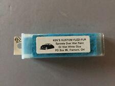 Ken's Custome Fuzzi-Fur - blue for scale model car interiors