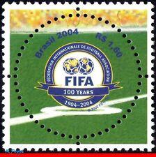 2924 BRAZIL 2004 - FIFA CENTENARY, SPORT, SOCCER/FOOTBALL, MI# 3357, MNH