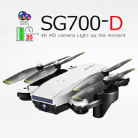 ZLL ​2019 SG700-D WiFi RC Drone 4K 1080P HD Dual Camera Optical Flow Real Time