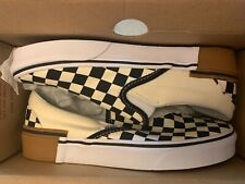 Vans Classic Slip-On Gum Block Checkerboard Men's SIZE 10.5  VN0A38F7U58