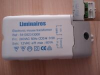 Low voltage 12V electronic transformer 60VA 60W non wired with terminals