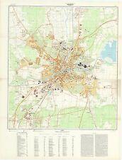 Russian Soviet Military Topographic Maps - OREBRO (Sweden), 1:10 000, ed. 1974