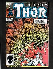 Mighty Thor #344 ~ Signed By Walt Simonson/ 1st Malekith ~ 1984 (9.2) WH