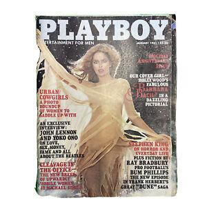 PLAYBOY Magazine Vintage January 1981 John Lennon Yoko Ono Interview