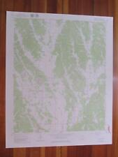 Marietta Mississippi 1979 Original Vintage USGS Topo Map