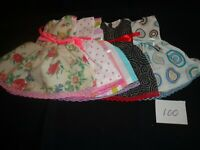 doll dress for 18 inch american girl lot of 5 assorted handmade 100