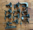 Antique Lot of 12 Wall Sconces Victorian Brass Deco Misc