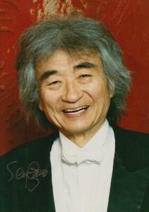 SEIJI OZAWA --- original signiert - C5#26