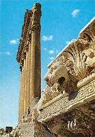 BT13299 Lebanon the six columns of jupiter temple with details         Lebanon
