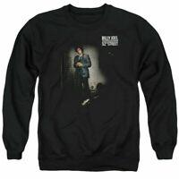 KISS Hotter Cover Hoodie Sweatshirt Mens Licensed Rock Band Retro Black Heather