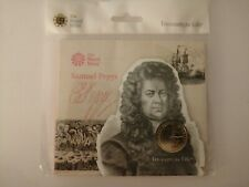 2019 Royal Mint Samuel Pepys £2 Two Pounds Coin Brilliant Uncirculated Pack