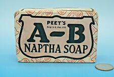 VINTAGE BAR of PEET'S A-B NAPTHA SOAP UNOPENED - NEW OLD STOCK