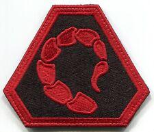 C&C NOD Scorpion Emblem Patch Right Shoulder Reverse Color Command Conquer Hook