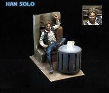 Classic 1/24 Scale Star Wars Han Solo Bar Scene 75MM Unpainted Resin Model Kit