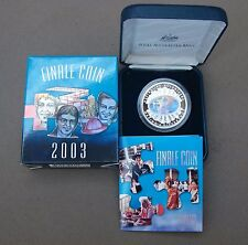 "2003 ""AUSTRALIA'S VOLUNTEERS"" $5 SILVER HOLOGRAM PROOF FINALE COIN. 15,001 only!"
