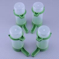 4 Stk. Automatisch Kerne Wasser Futterspender Käfig für Papagei Nymphensittich