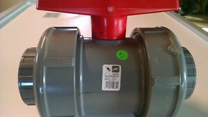 "3"" 150 PSI CPVC WATER BALL VALVE 2322-030C 54211-50860 SOCKET ITEM # 127"