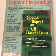 Popular Electronics Magazine CB Transceivers August 1975 071917nonrh