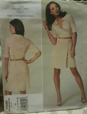 V1285 Vogue Tracy Reese Women's Plus Dress Sewing Patterns For Sizes 16 - 24