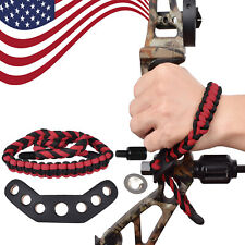 Rope Strap Bow Wrist Sling Hunting Shooting Archery Accessories Easy Adjustable