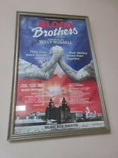 Blood Brothers autographed Bway Poster David Cassidy Shaun Cassidy Petula Clark